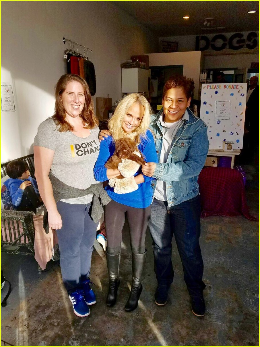 kristin chenoweth adopts a new dog meet thunder 033838104