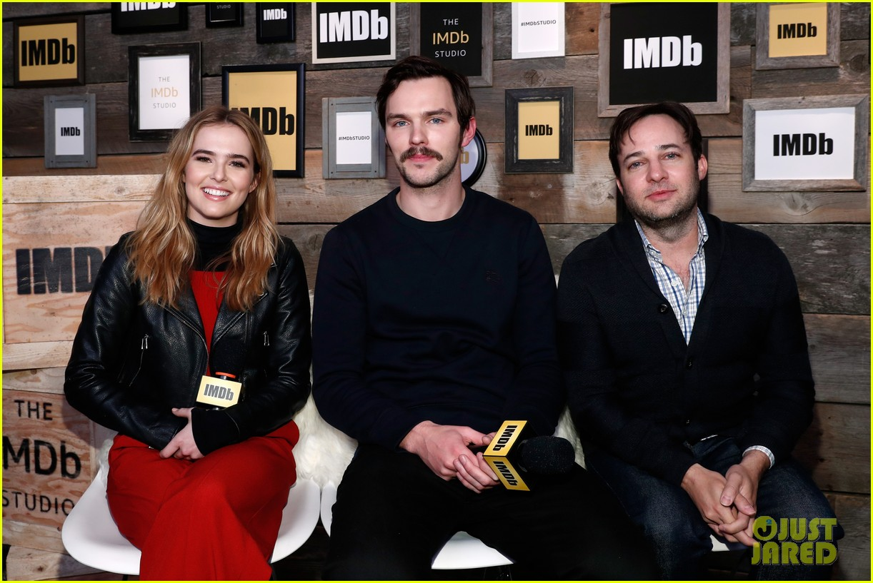 Photo 3847531 | 2017 Sundance Film Festival, Danny Strong, Nicholas Hoult, Sundance Film Festival, Zoey Deutch Pictures | Just Jared