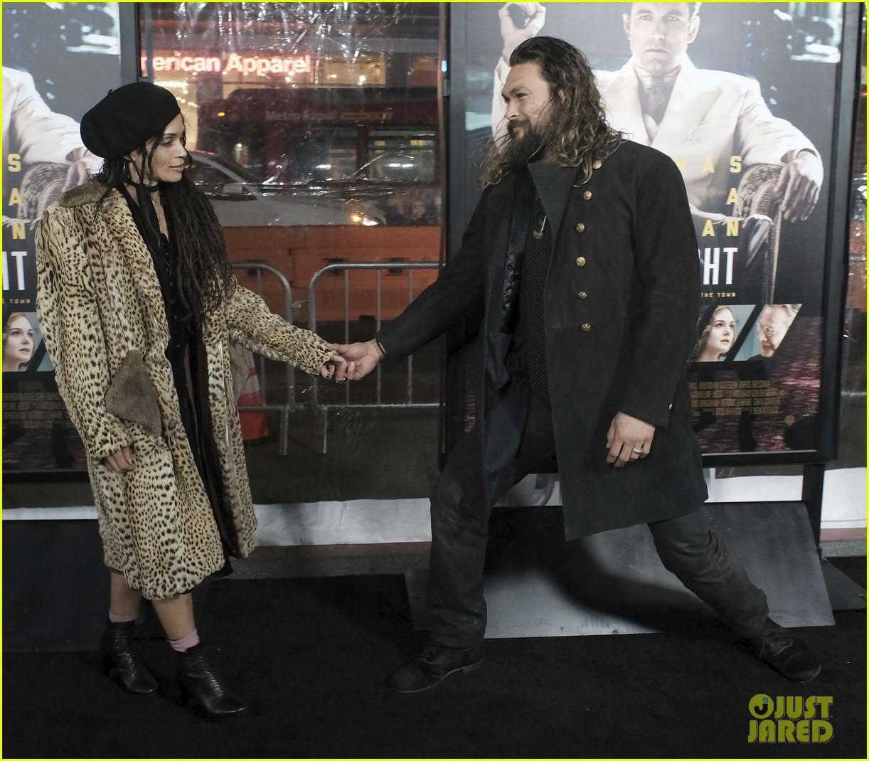 Jason Momoa Wife: Jason Momoa & Wife Lisa Bonet Make Rare Red Carpet
