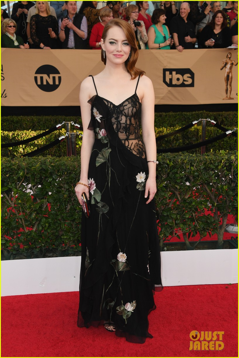 Emma Stone S Sag Awards 2017 Look Is Stunning Photo