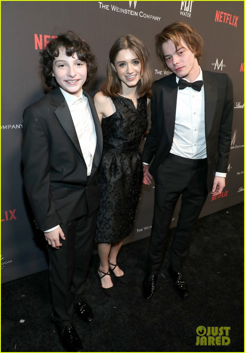 stranger things party netflix 2017 globes 103839969