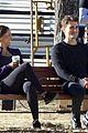 paul wesley kat graham continue filming vampire diaries 05