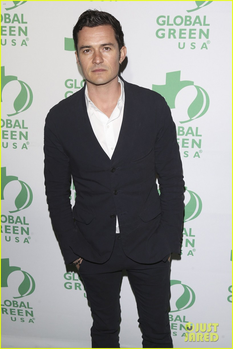 orlando bloom 2017 global green gala 013864158