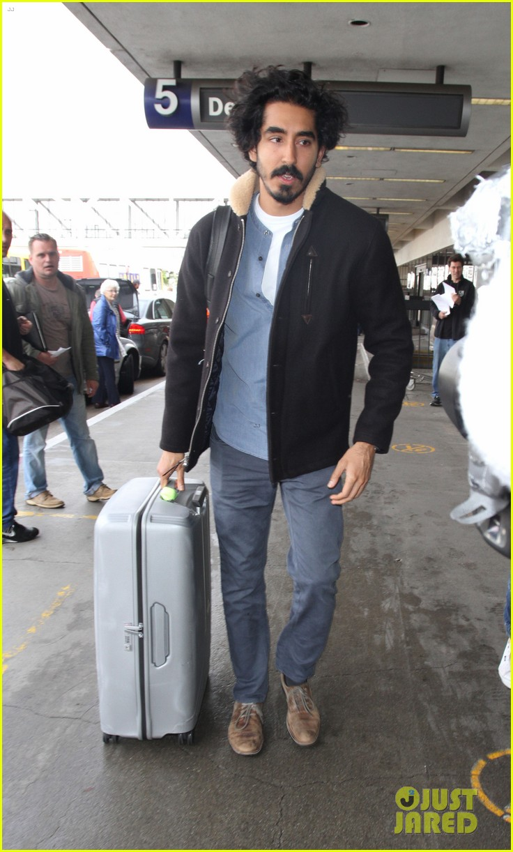 dev patel jets out of los angeles 013855695