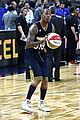ansel elgort anthony mackie face off in nba celebrity all star game 11