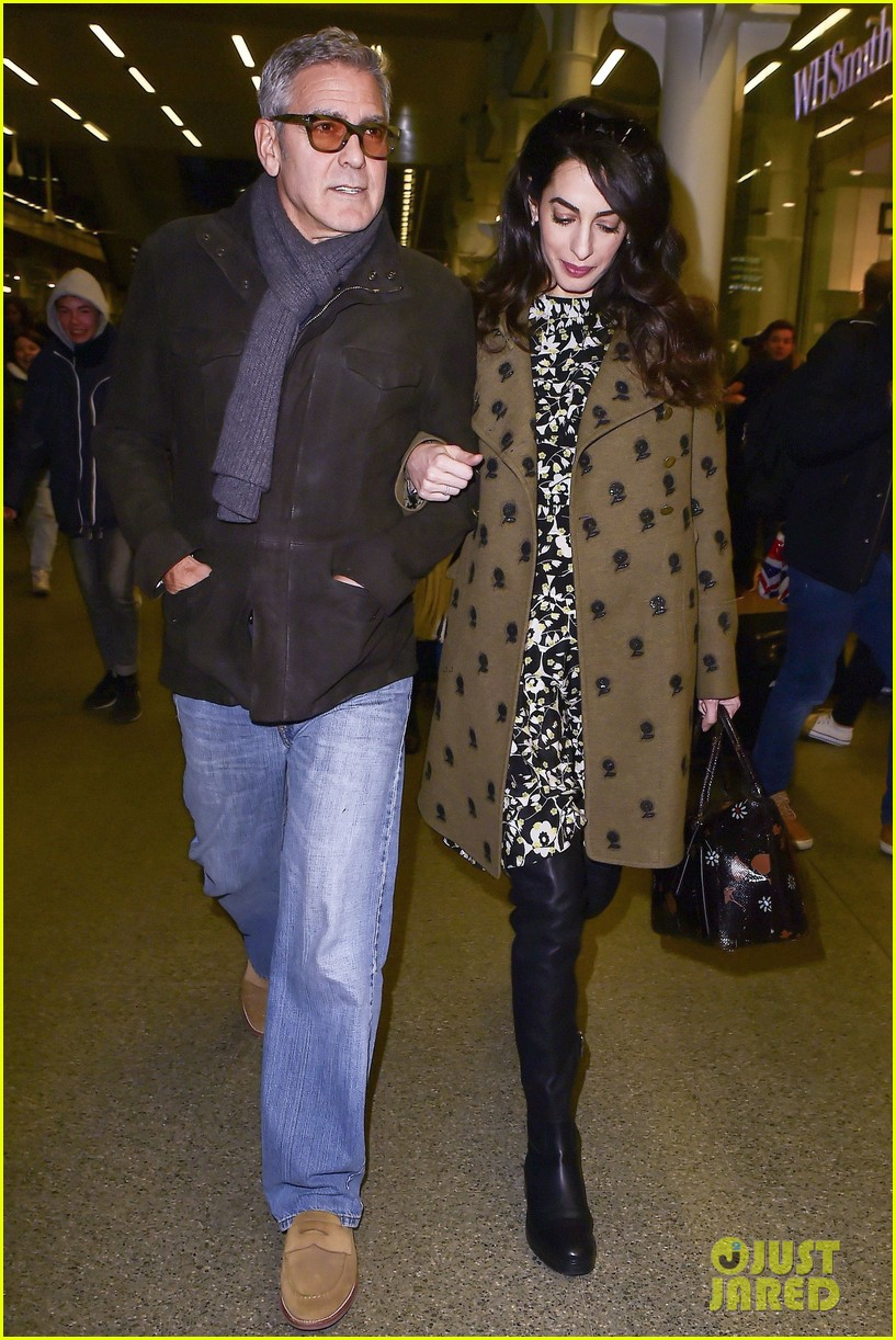 george clooney amal pregnant head to london after cesar awards 053866414