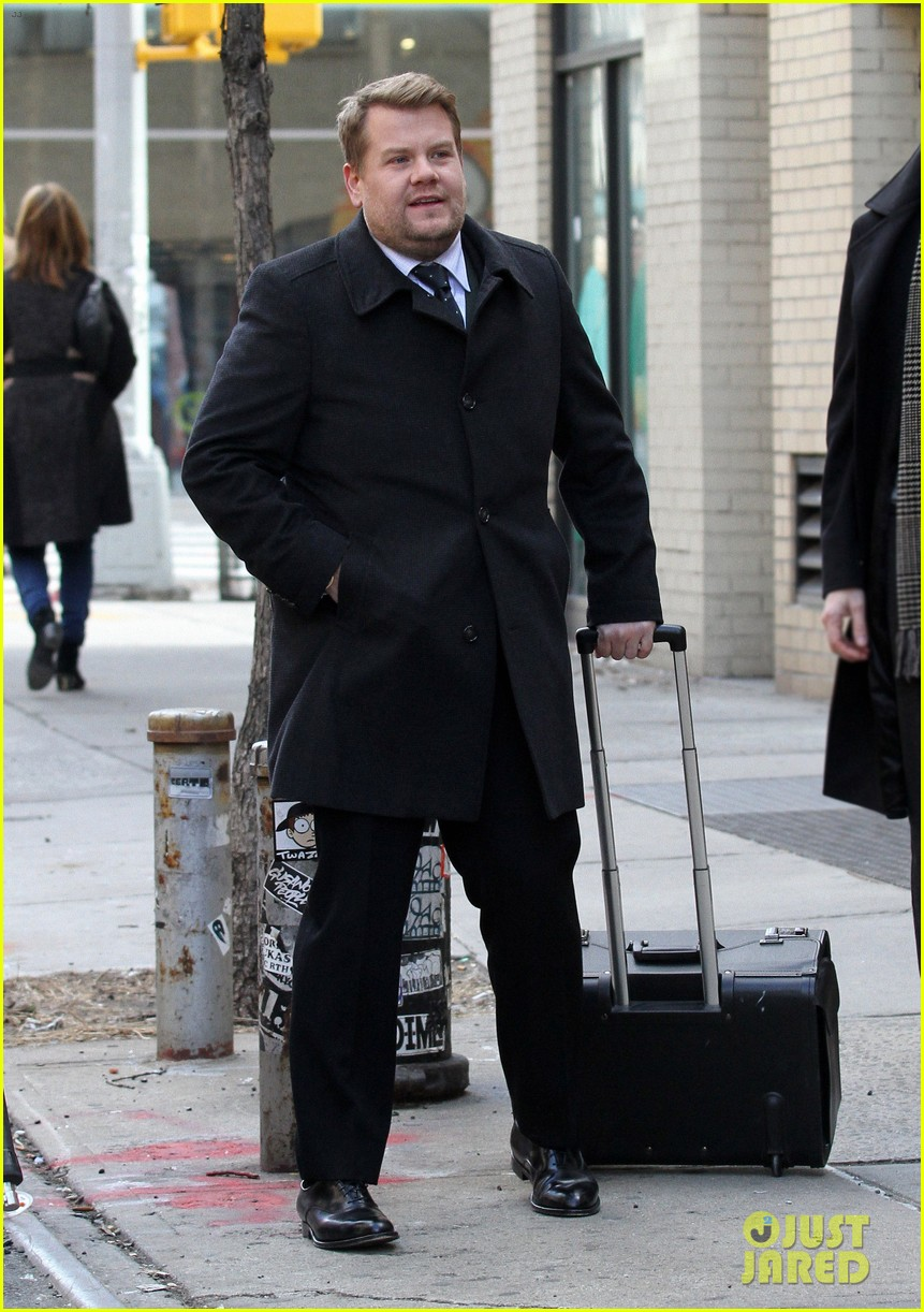james corden films oceans eight cameo nyc 113851868