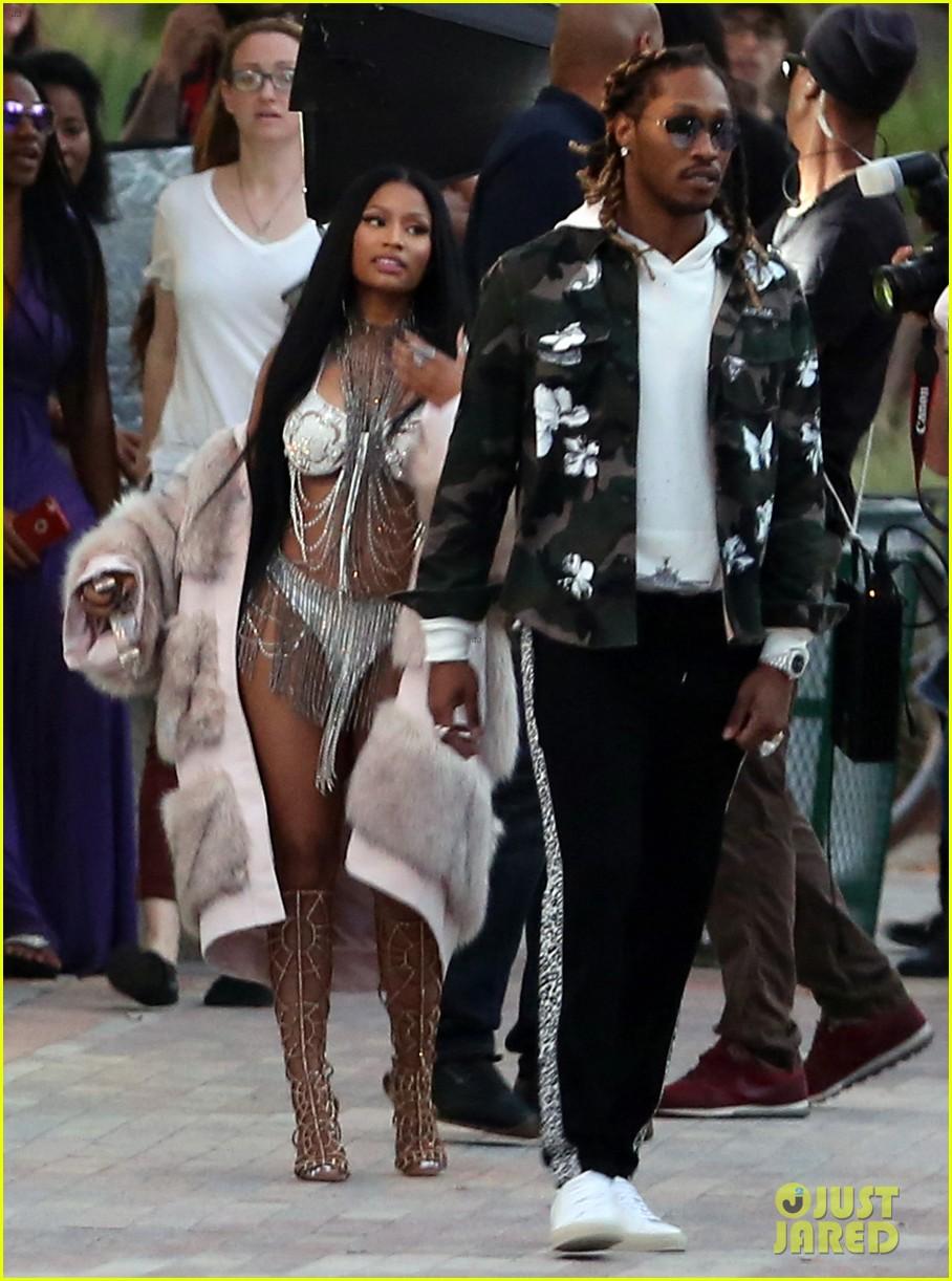 Nicki Minaj Gives Sneak Peak at Music Video With Future ...