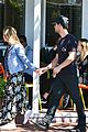 taylor lautner billie lourd shop ahead public memorial 06