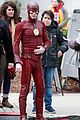 grant gustin stays in character during his coffee break 04