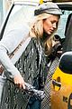 blake lively hails a cab after her monday photo shoot 02