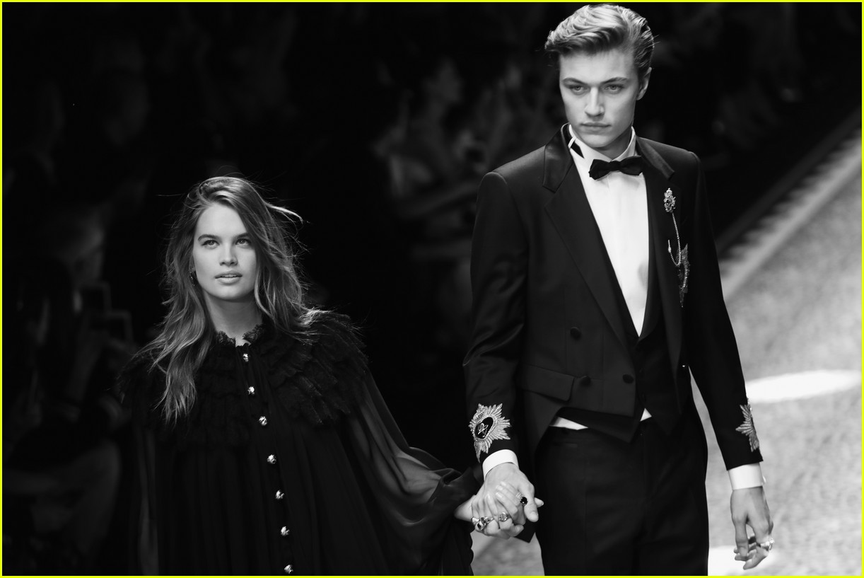 Stormi and  Lucky Blue Smith