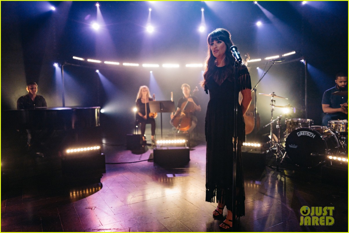 lea michele performs love is alive on the late late show 013874096