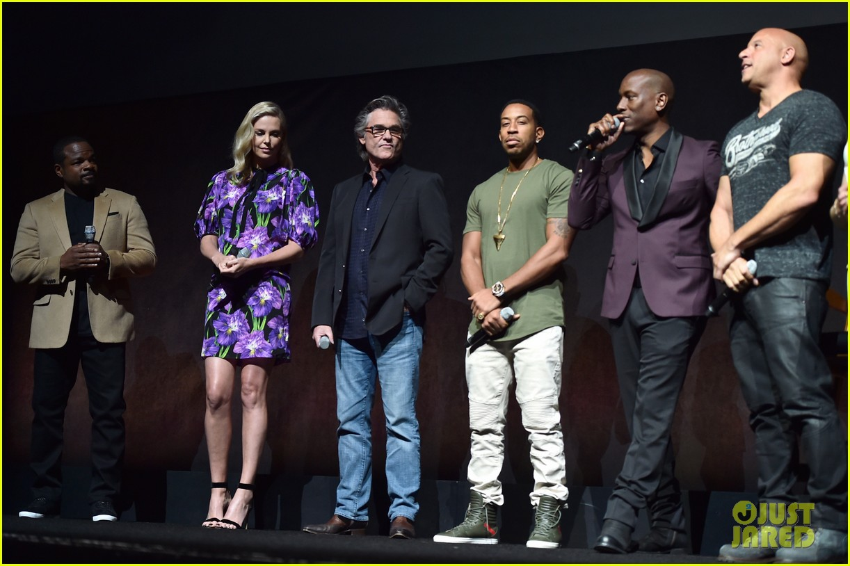 Vin Diesel Amp Fate Of The Furious Cast Surprise Cinemacon