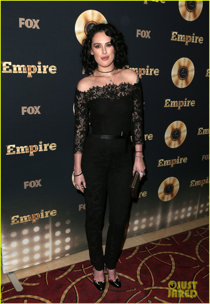 rumer willis celebrates her first empire episode at l a premiere 073876883