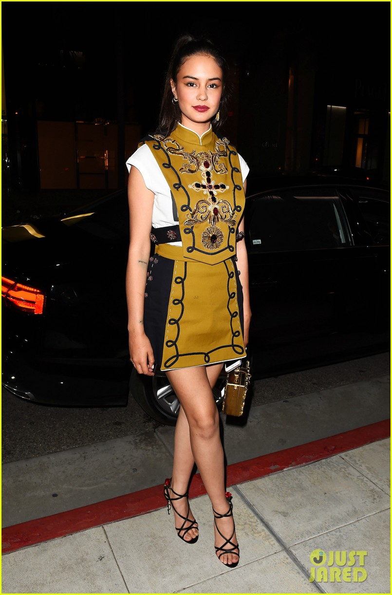 zendaya ireland jhene stun at dolce gabbana party 043877960
