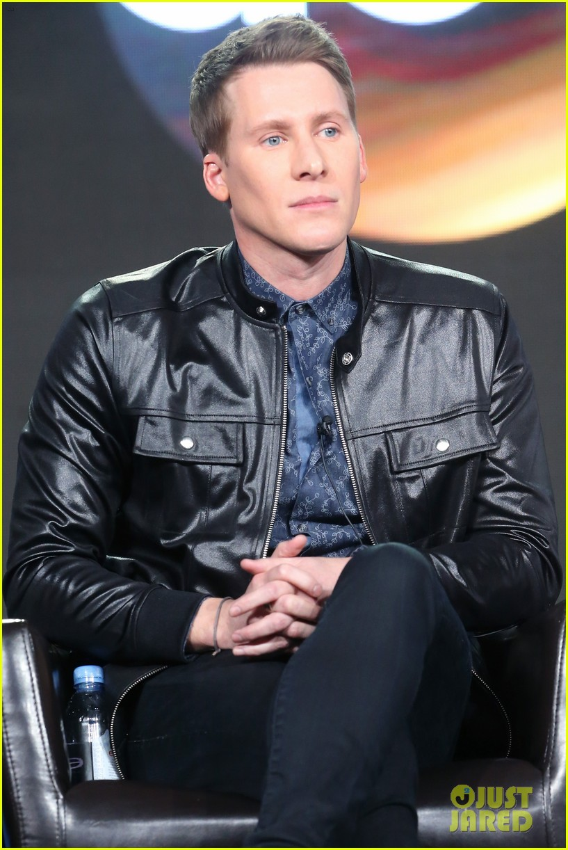 dustin lance black adds model to his resume 013882583
