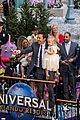 jimmy fallon brings his wife kids to ride opneing at universal orlando 04