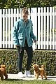 lena dunham walks dog los angeles 05