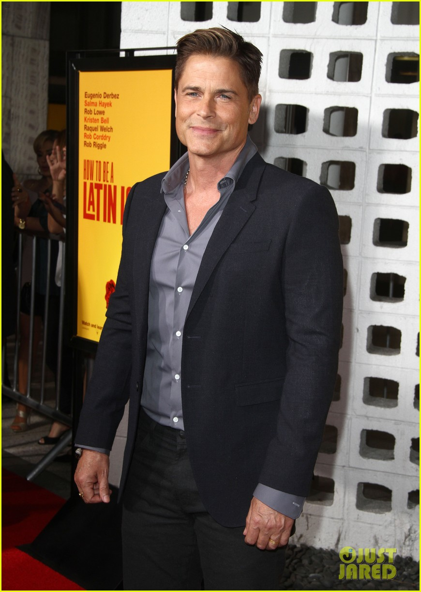 rob lowe joins how to be a latin lover cast at hollywood premiere 053891241