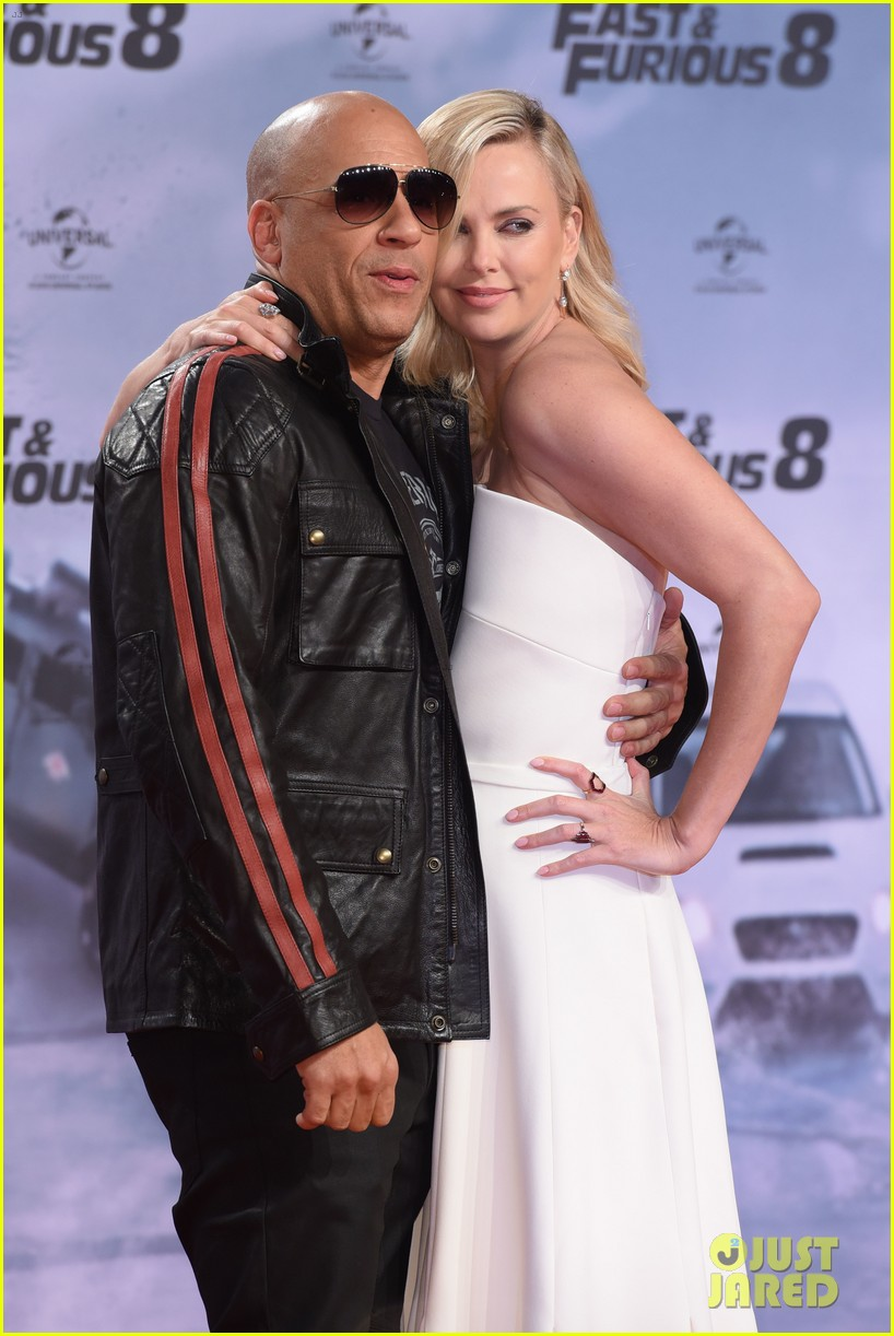 charlize theron vin diesel fate of the furious german premiere 023882025