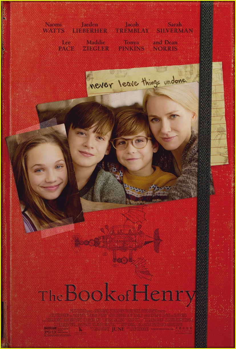 naomi watts is a loving mother in official book of henry poster 013883733