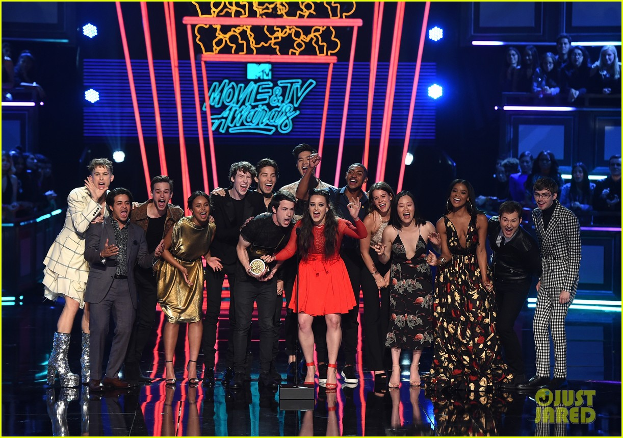 alisha boe 13 reasons why full cast mtv awards 023896374