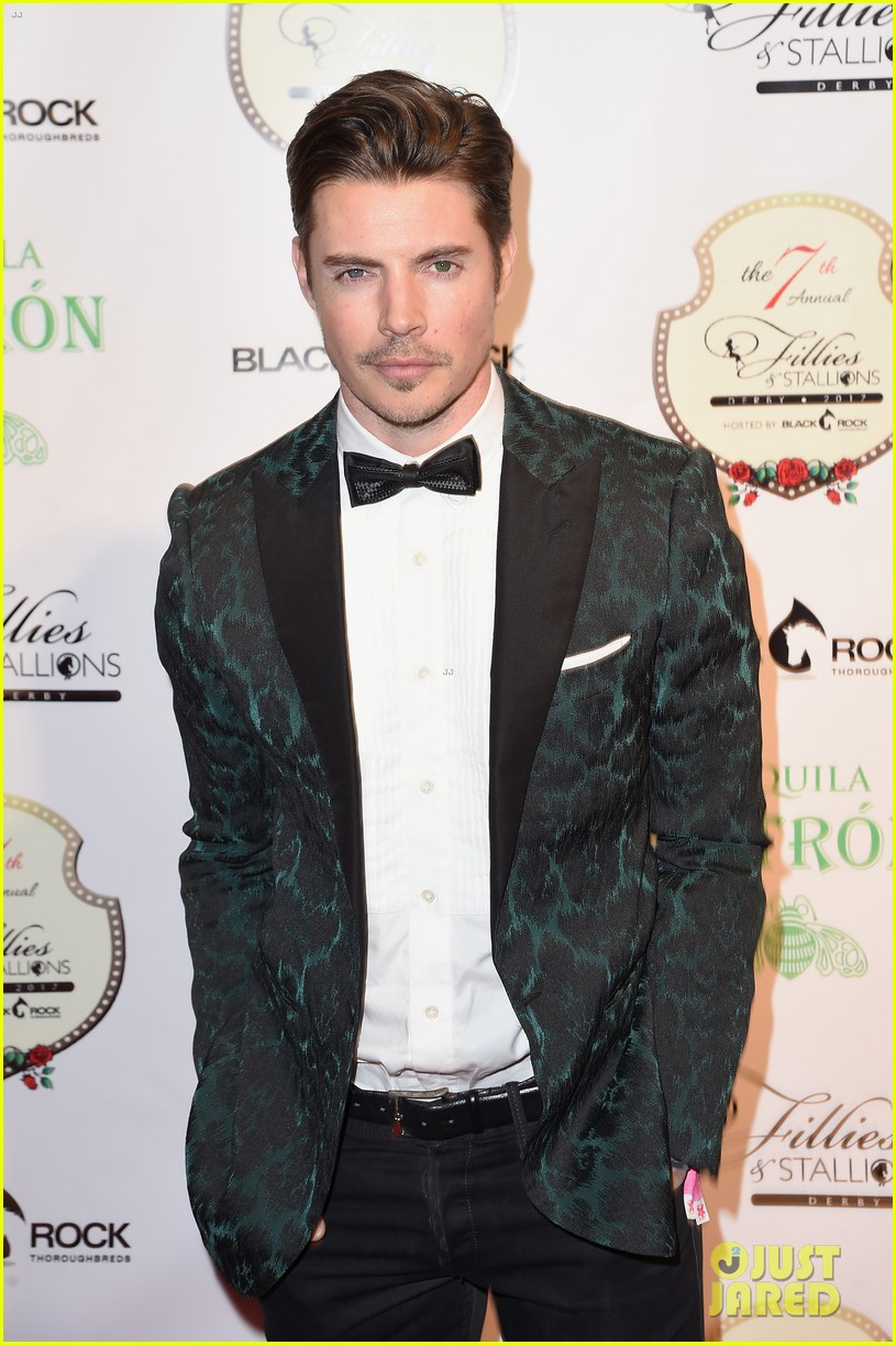 stephen amell justin hartley kentucky derby party 043895699