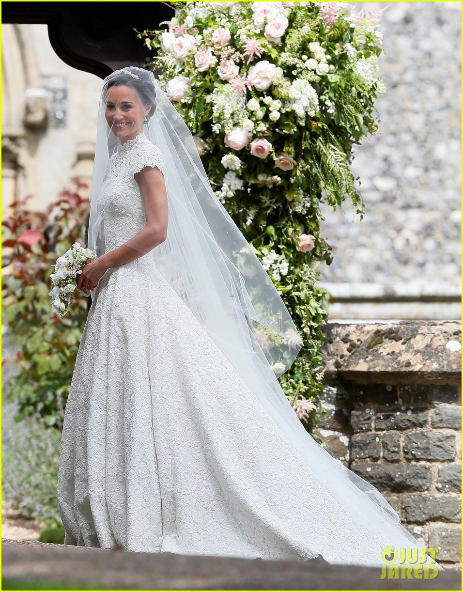 Kate Middleton Prince William Kids Attend Pippas Wedding
