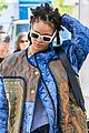 rihanna re shoots oceans eight set 04