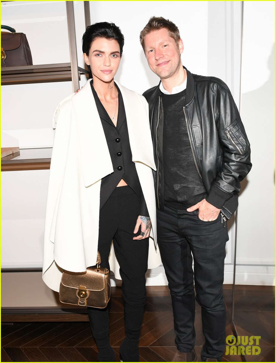 d2f8e2fc7e Ruby Rose & Matt Smith Celebrate Burberry's DK88 Bag Collection Launch  After Met Gala 2017!: Photo 3894567 | Christine and the Queens, Derek  Blasberg, ...