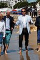 arnold schwarzenegger goes barefoot on the beach in cannes confirms new terminator movie 15