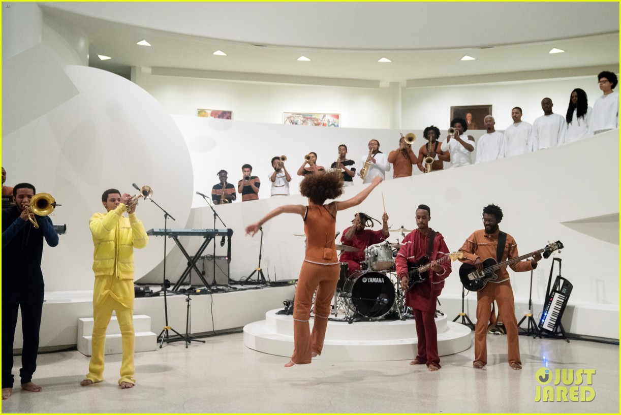 solange knowles guggenheim performance 543901704