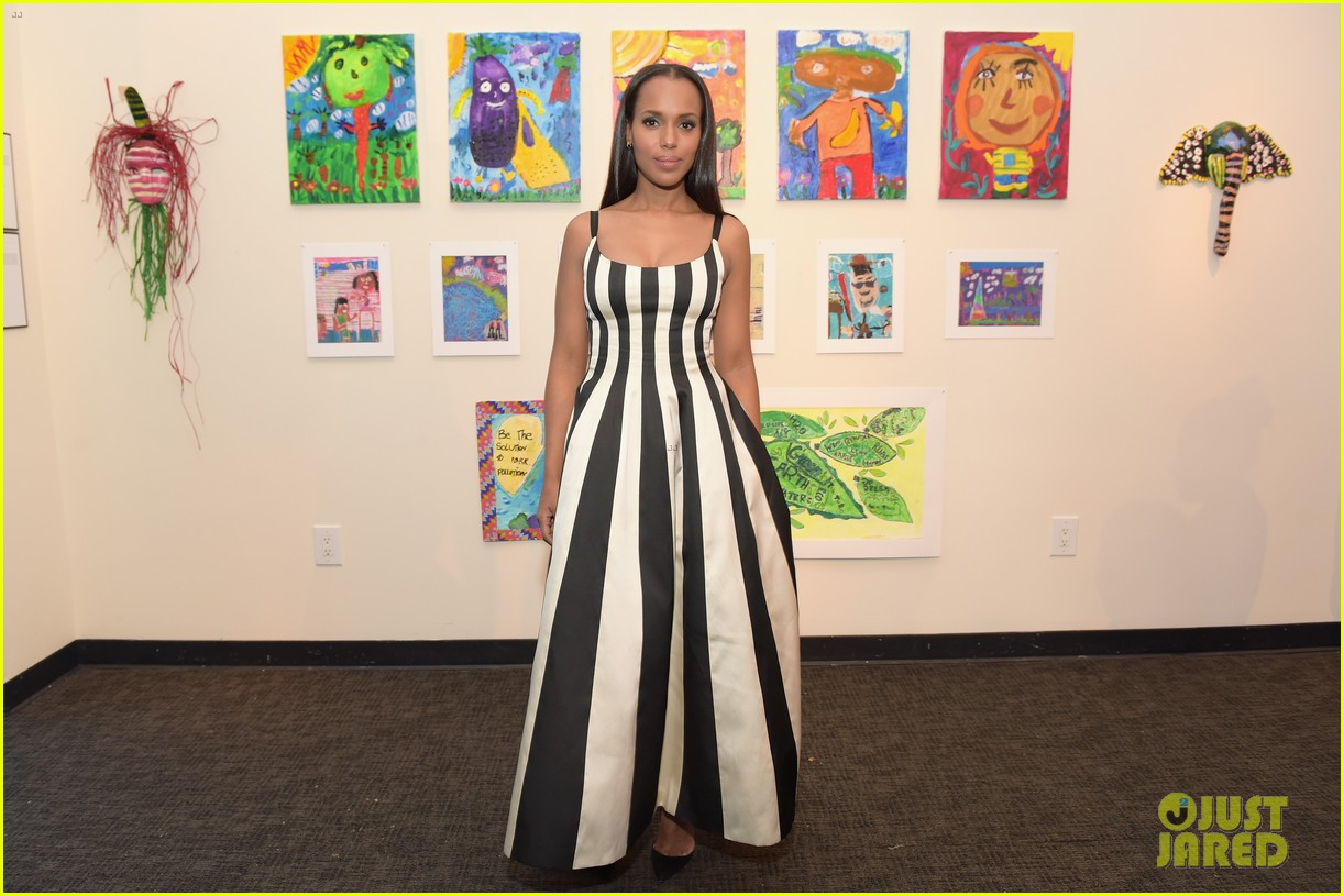 kerry washington stepsout to support the bronx children museum gala023894310