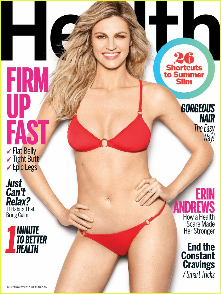 erin andrews health magazine 013913814