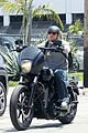charlie hunnam goes for a motorcycle ride around la04