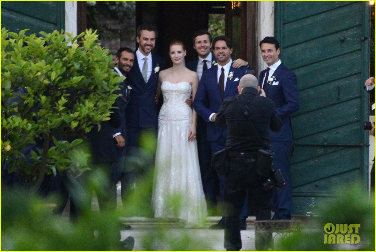 jessica chastain wedding photos 05