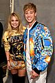 dnce match in out of this world outfits at moschino show 03
