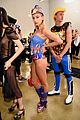 dnce match in out of this world outfits at moschino show 04