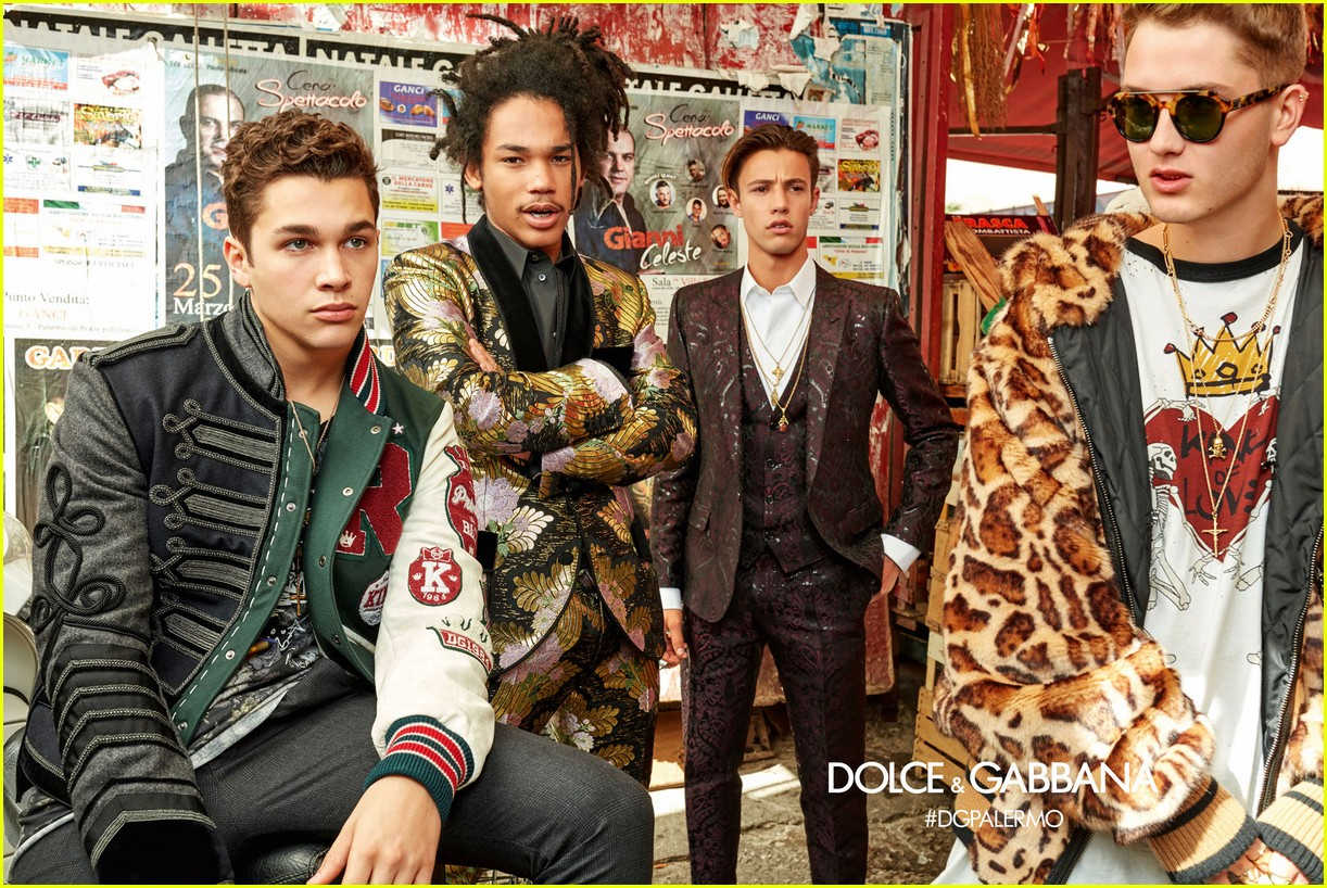 26915ddbbc7 Dolce Gabbana s New Campaign Features Influencers Like Cameron Dallas    Rafferty Law!  Photo 3920282