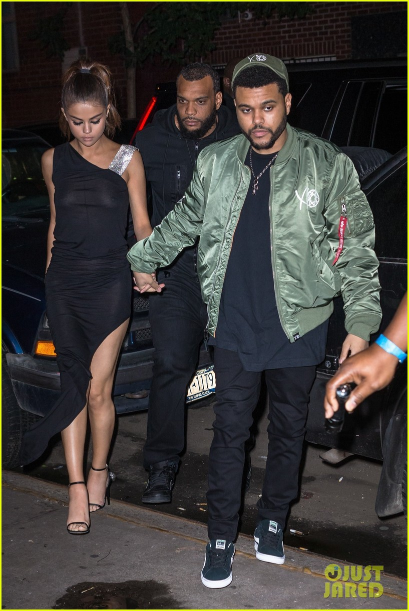 Selena Gomez Wears Sheer Dress for Date with The Weeknd: Photo ...