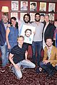 josh groban andy karl honored with portraits at sardis 03