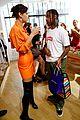 bella hadid and travis scott chat it up during paris fashion week 04