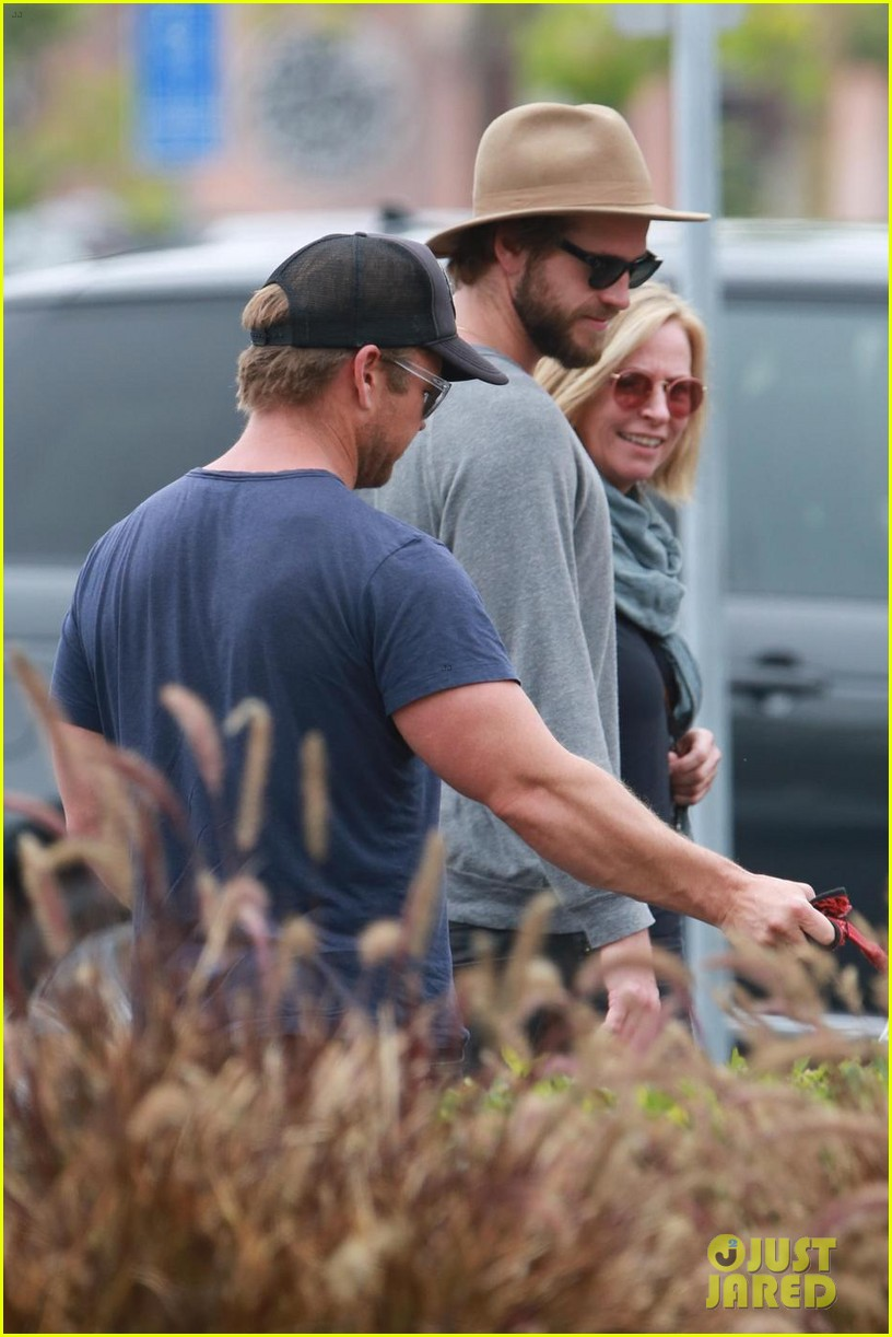 liam hemsworth grabs lunch with luke and parents in malibu 023918589