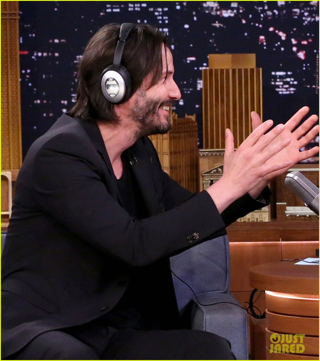 Keanu Reeves Wedding Ring Jimmy Fallon
