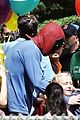 ryan reynolds deadpool flies into a kids birthday party 20