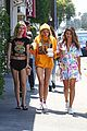 bella thorne grabs lunch with friends in la03