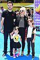 christina aguileras kids wear their emojis to emoji movie premiere 07