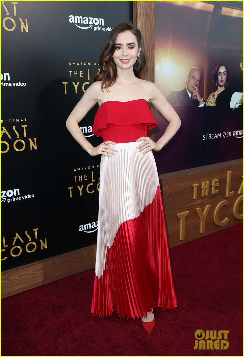 matt bomer lily collins the last tycoon premiere 013934877