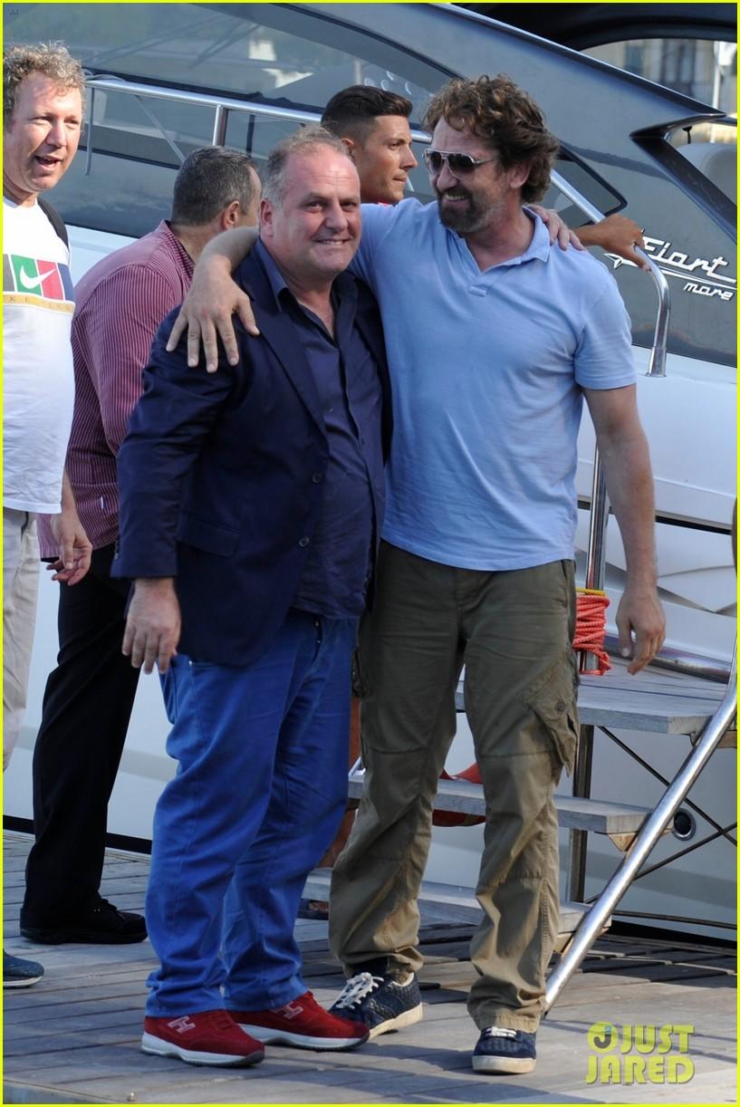 gerard butler ischia film festival arrival 043925814